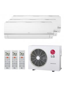 LG Klimaanlage R32 MultiSplit Triple SET Standard Plus 19.000 BTU 3x2,5kW